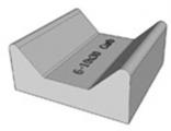 Profil rigole 6-10x30